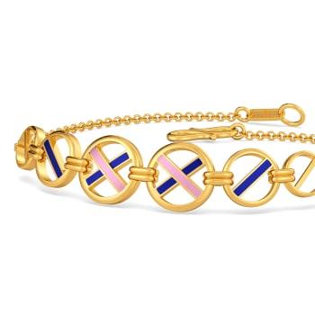 Offbeat Leagues Gold Bracelets