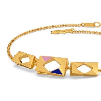 Preppy Pep Gold Bracelets