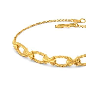 Romanesque Gold Bracelets