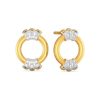 Tales of Two Diamond Earrings