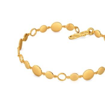 9 to 9 Sequins Gold Bracelets