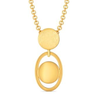 Safe for Work Sequins Gold Pendants