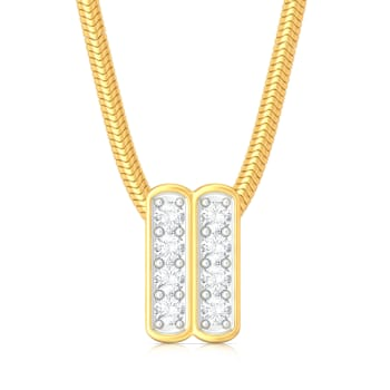 Spots and Stripes Diamond Pendants