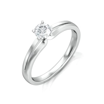 Sassy Solitaire Diamond Rings
