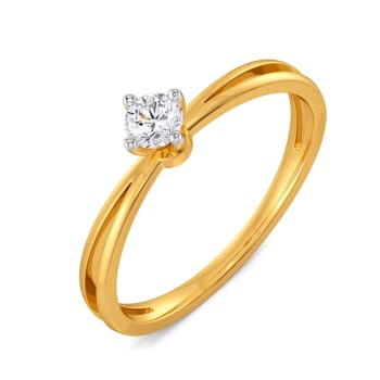 Solitaire Affair Diamond Rings