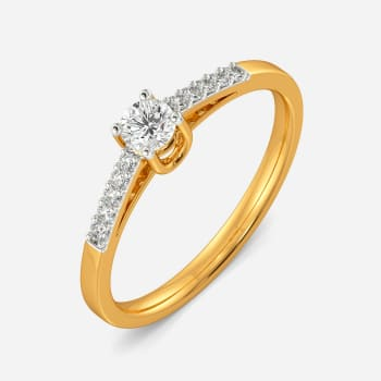 Solitaire Suave Diamond Rings