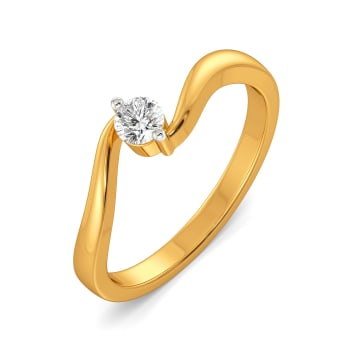 Swirl Story Diamond Rings
