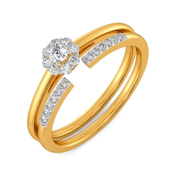 Floret Flash Diamond Rings