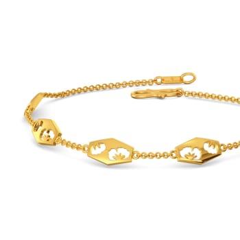 Scarf Knots Gold Bracelets