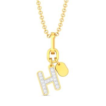 High on Hip Diamond Pendants