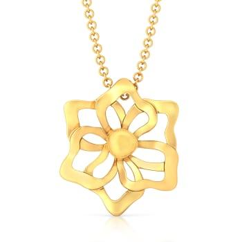 Sunny Side Up Gold Pendants