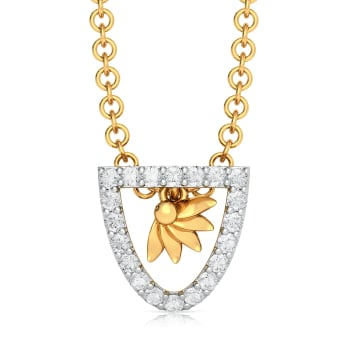 Sun N Glam Diamond Pendants