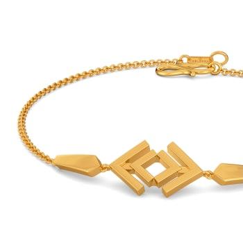 Seventies Collar Gold Bracelets