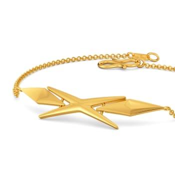 Flare Up Gold Bracelets