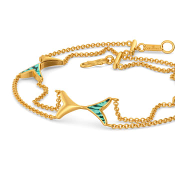 Ombre Out Gold Bracelets