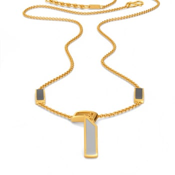 Power Grey Gold Necklaces