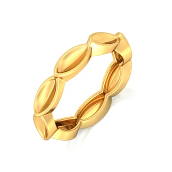 Fun & Foliage Gold Rings