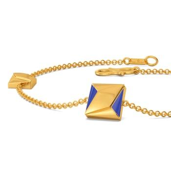 70s Bootcut Gold Bracelets