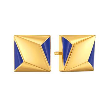 70s Bootcut Gold Earrings
