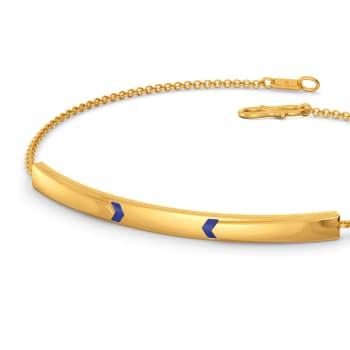 Denim Divine Gold Bracelets