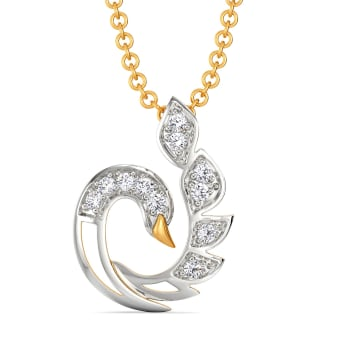 White Soiree Diamond Pendants