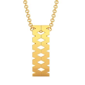 Mega Omega Gold Pendants