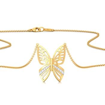 Unravelled Elegance Diamond Necklaces