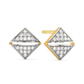 Formal Finds Diamond Earrings