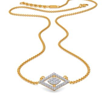 Rhomb Reasons Diamond Necklaces