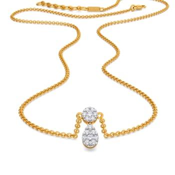 Dribble Dabble Diamond Necklaces