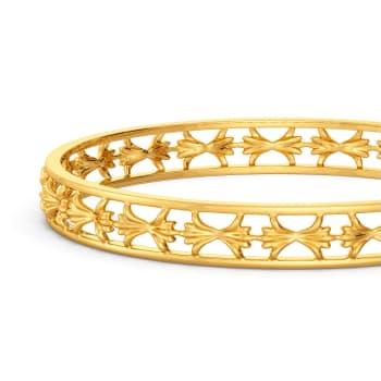 Triskel Nuances Gold Bangles