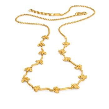 Daisy Dances Gold Necklaces