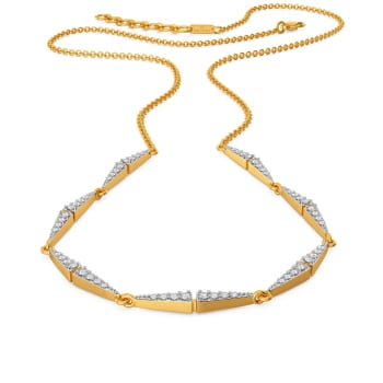 Tri to Tempt Diamond Necklaces