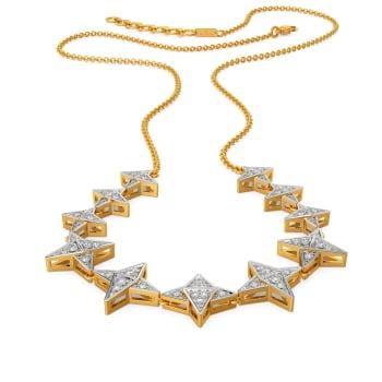 Star Smitten Diamond Necklaces