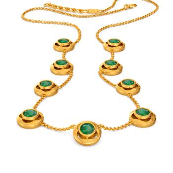 Emerald Genres Gemstone Necklaces