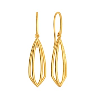 Right to Light Gold Earrings
