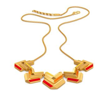 Block O Fever Gold Necklaces