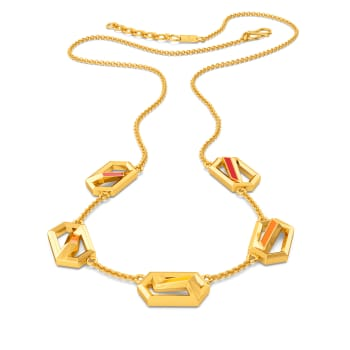 Fearless Hues Gold Necklaces