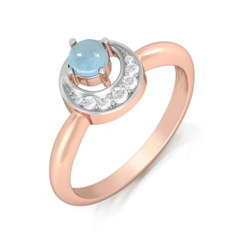 Bluebells Diamond Rings