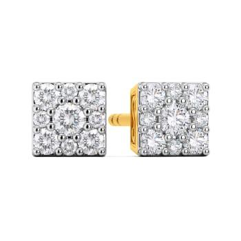 Quad Couture Diamond Earrings
