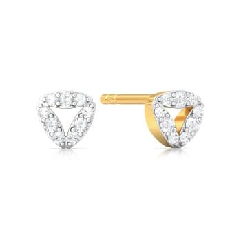 Trio-fic  Diamond Earrings