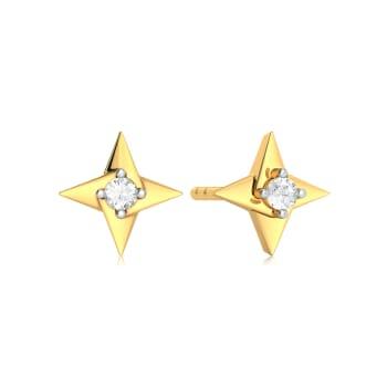 Fidget Digit  Diamond Earrings