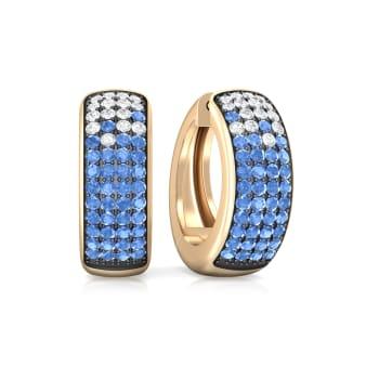 Means of Jeans Diamond Earrings