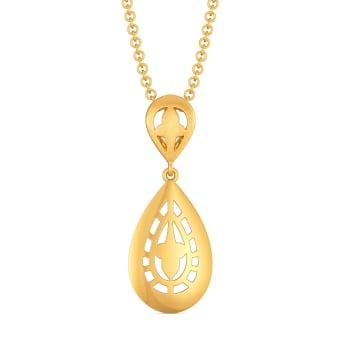 Lacy Honour Gold Pendants