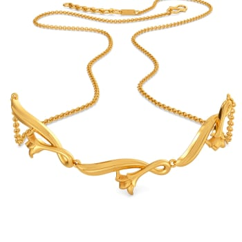 Drawing Room Gold Necklaces