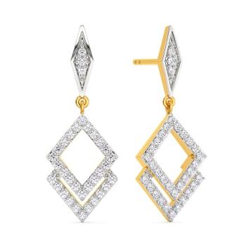 Dazzling Dawn Diamond Earrings