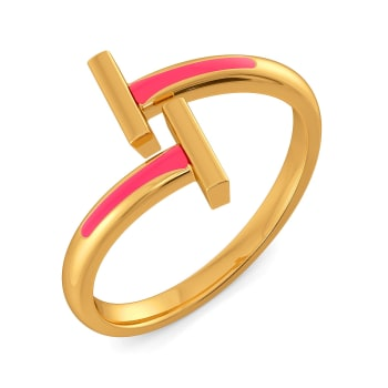 Top to Tone Gold Rings