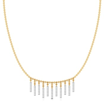 String Bling Diamond Necklaces