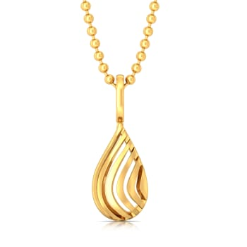 Sea Shell Gold Pendants