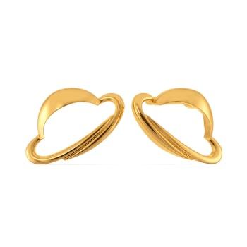 Hat Sophistique Gold Earrings